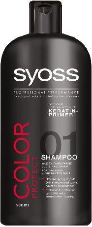 Syoss Color Szampon do włosów farbowanych 500 ml 1