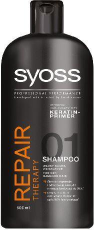 Syoss Repair Therapy Szampon do włosów suchych i zniszczonych 500 ml 1