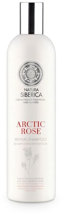 Natura Siberica Blanche Szampon do włosów odbudowujący Arktyczna Róża 400 ml 1