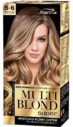 Joanna Multi Blond Super Rozjaśniacz do pasemek 5-6 tonów 1