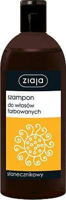 Ziaja Szampon do włosów farbowanych słonecznikowy 500 ml 1