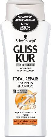 Schwarzkopf GLISS KUR TOTAL REPAIR szampon 400 ml 1