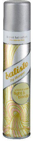 Batiste Suchy szampon do włosów Light & Blonde 200 ml 1