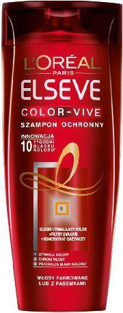 L'Oreal Paris Elseve Color Vive Szampon do włosów farbowanych 400 ml 1