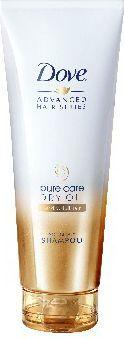 Dove  Advanced Hair Pure Care Dry Oil Szampon do włosów suchych 250 ml 1