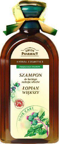 Green Pharmacy Szampon do włosów Łopian 350 ml 1
