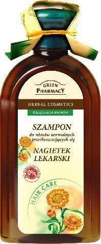 Green Pharmacy Szampon do włosów normalnych i przetłuszczających Nagietek 350 ml 1