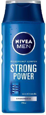 Nivea Men Szampon pielęgnujący STRONG POWER 250ML 1