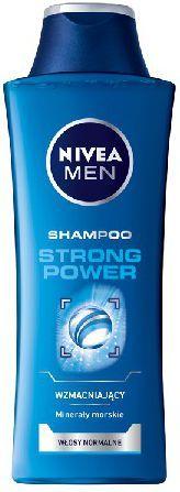 Nivea Hair Care Szampon STRONG POWER for men 400ml 1