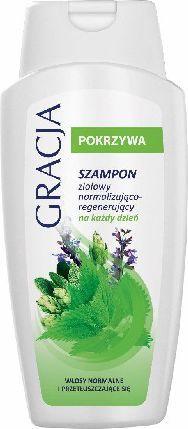 Gracja  Pokrzywa Szampon ziołowy do włosów normalizująco-regenerujący 250 ml 1