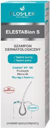 FLOSLEK ELESTABion S - Szampon dermatologiczny, łupież suchy, łupież pstry 150 ml 1