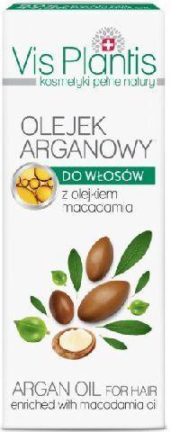 Vis Plantis Olejek Arganowy do włosów 30 ml 1