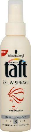 Schwarzkopf Taft Żel w sprayu do włosów bardzo mocny 150 ml 1
