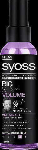 Syoss Big Sexy Volume Spray dodający objętości 150 ml 1