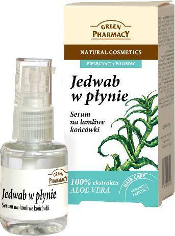 Green Pharmacy Jedwab w płynie Serum na łamliwe końcówki 30 ml 1