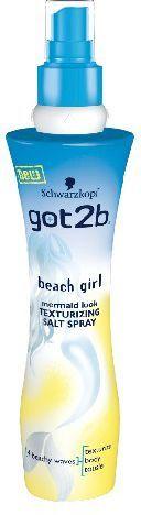 Schwarzkopf Got2b Beach Girl Spray do włosów z solą 200 ml 1