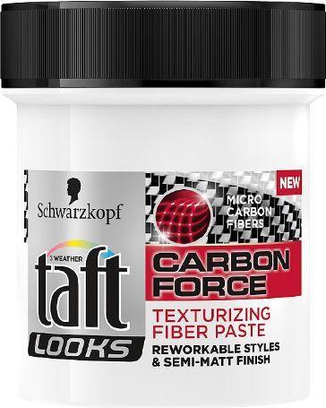 Schwarzkopf Taft Looks Carbon Force Pasta nadająca teksturę 130ml - 68920117 1