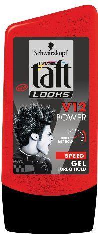 Schwarzkopf Taft Looks Power V12 Żel do włosów 150ml 1