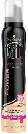 Schwarzkopf Taft Power&Fullness Pianka do włosów mega mocna 200 ml 1