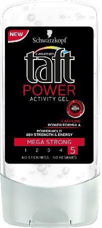 Schwarzkopf Taft Power Activity Żel do włosów 150 ml 1