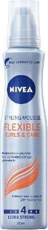Nivea Hair Care Styling Pianka do włosów Flexible Curls & Care 150 ml 1