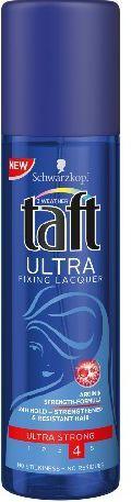 Schwarzkopf Taft Ultra Fixing Lacquer Lakier do włosów ultra mocny 200 ml 1