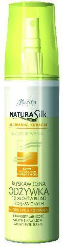 Marion Odżywka Natura Silk Błyskawiczna do włosów blond i rozjaśnionych 150 ml 1