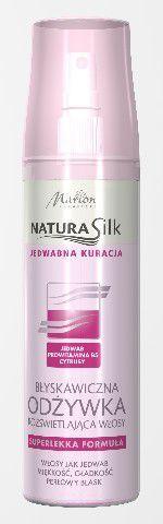 Marion Natura Silk Błyskawiczna odżywka do włosów rozświetlająca 150 ml 1