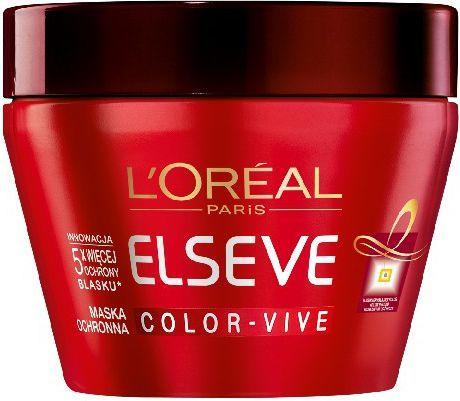 L'Oreal Paris Elseve Color z filtrem UV Maseczka do włosów farbowanych 300 ml 1