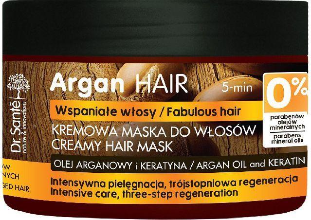 Dr. Sante Argan Hair Maska kremowa do włosów uszkodzonych 300ml 1