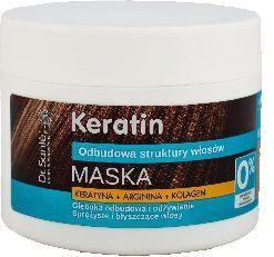 Dr. Sante Keratin Hair Maska odbudowująca do włosów łamliwych i matowych 300 ml 1