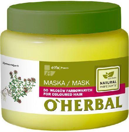 Elfa Pharm O'Herbal Maska do włosów farbowanych 500 ml 1