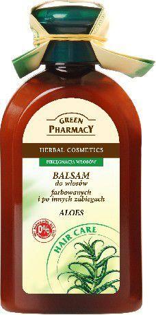 Green Pharmacy Balsam do włosów farbowanych Aloes 300 ml 1