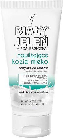 Biały Jeleń Odżywka hipoalergiczna nawilżająca Kozie Mleko do włosów suchych i cienkich 200 ml 1