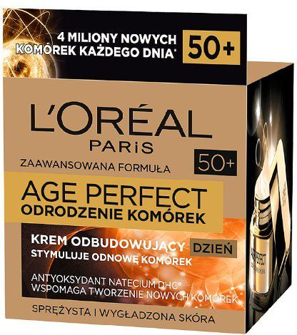 L'Oreal Paris Krem do twarzy Age Perfect Odrodzenie Komórek odbudowujący 50ml 1