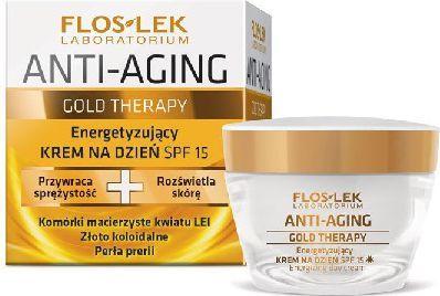 FLOSLEK Anti Aging Gold Therapy Krem na dzień 50ml 1