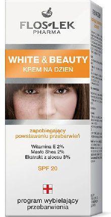 FLOSLEK White and Beauty Krem na dzień zapobiegający powstawaniu przebarwień 50 ml 1