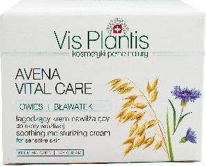 Vis Plantis Avena Vital Care Krem nawilżający na dzień do cery wrażliwej 50ml 1