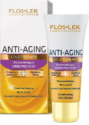 FLOSLEK Anti Aging Gold Therapy Krem pod oczy 50ml 1