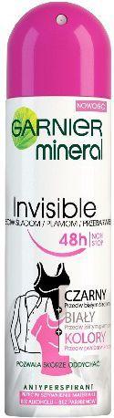 Garnier Mineral Invisi Dezodorant Spray Color 150ml 1
