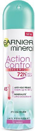 Garnier Mineral 72h Dezodorant w sprayu Action Control Thermic 150ml 1