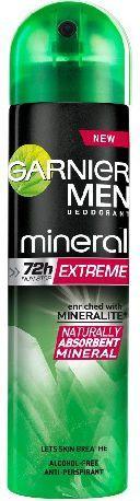 Garnier Mineral Men Extreme Dezodorant spray 150 ml 1