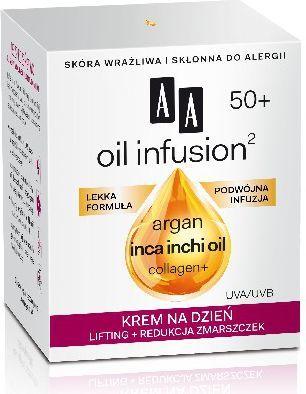 AA Oil Infusion 50+ Krem na dzień 50ml 1
