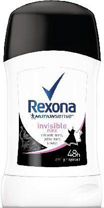 Rexona  Motion Sense Woman Dezodorant w sztyfcie Invisible Pure 40ml 1