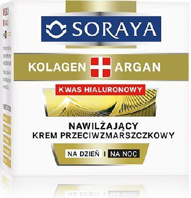 Soraya Kolagen Argan Krem nawilżający przeciwzmarszczkowy na dzień i noc 50ml 1