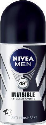 Nivea Dezodorant Antyperspirant INVISIBLE POWER roll-on męski 50ml 1