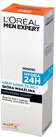 L'Oreal Paris Men Expert Hydra 24h Krem Nawilżający do skóry wrażliwej 75 ml 1
