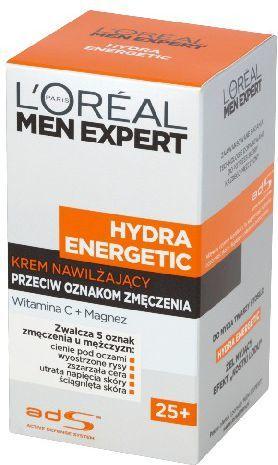 L'Oreal Paris Men Expert Hydra Energetic Krem nawilżający przeciw oznakom zmęczenia 25+ 50ml 1