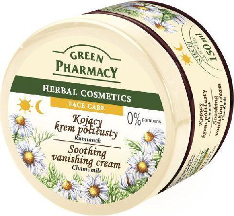 Green Pharmacy Herbal Cosmetics Krem do twarzy kojący z rumiankiem 150 ml 1