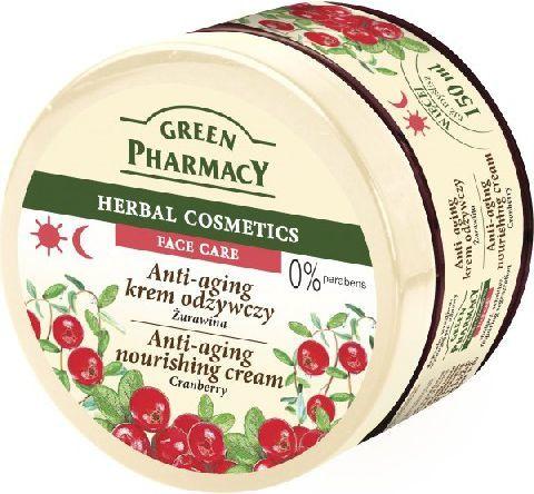 Green Pharmacy Herbal Cosmetics Krem do twarzy przeciwstarzeniowy z żurawiną 150ml 1